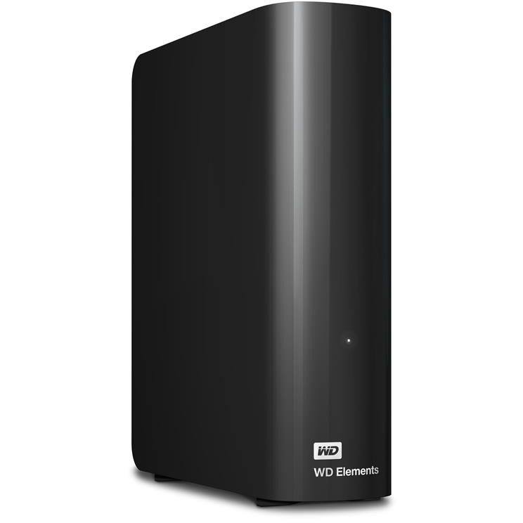 Original Western Digital Elements 2TB External Hard Drive (WDBWLG0020HBK-EESN)