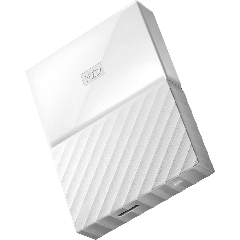 Original Western Digital My Passport White 2TB USB 3.0 External Hard Drive (WDBS4B0020BOR-WESN)