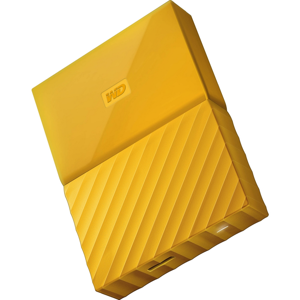 Original Western Digital My Passport Yellow 2TB USB 3.0 External Hard Drive (WDBS4B0020BOR-WESN)