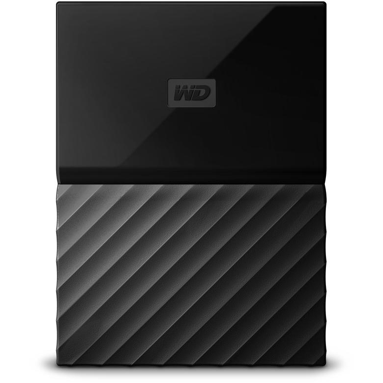 Original Western Digital My Passport 4TB USB C External Hard Drive (WDBP6A0040BBK-WESE)