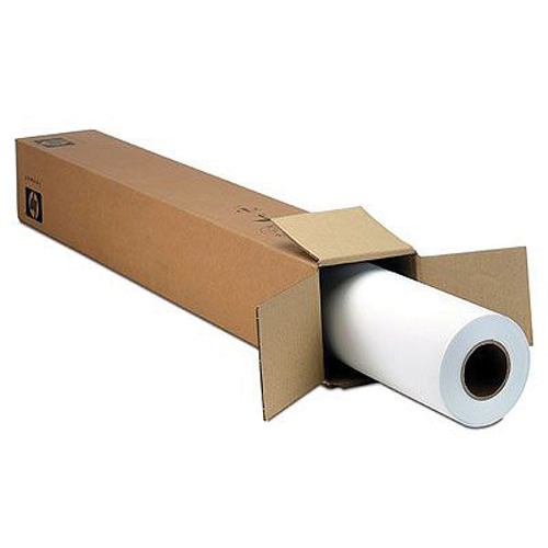 Original HP 235gsm 24in x 100ft Everyday Pigment Ink Satin Photo Paper Roll (Q8920A)