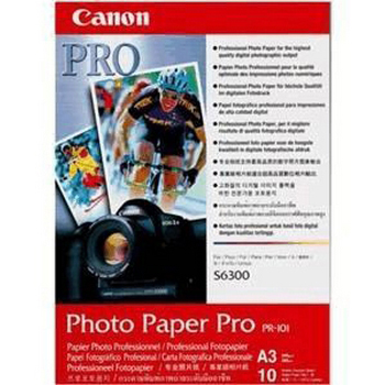 Original Canon PR-101 245gsm A3 Photo Paper Pro - 10 sheets (1029A008)