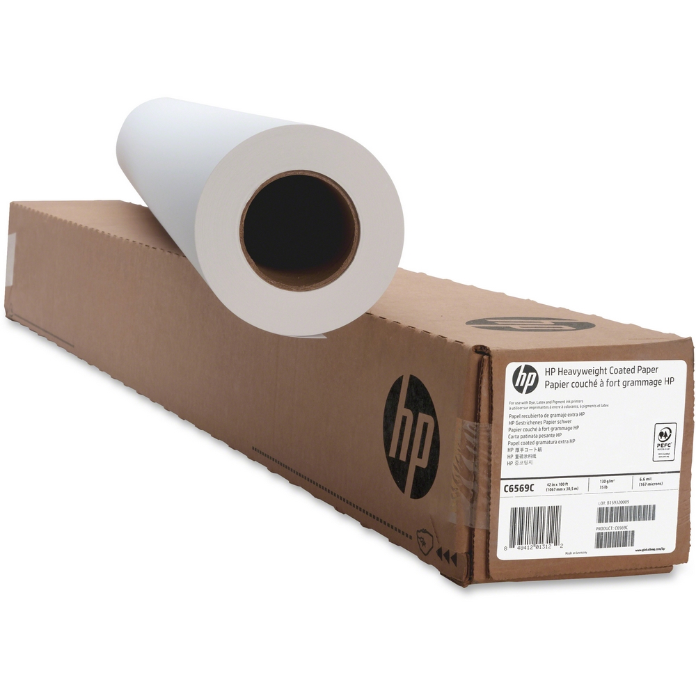 Original HP 95gsm 60in x 150ft Universal Coated Paper Roll (Q1408A)