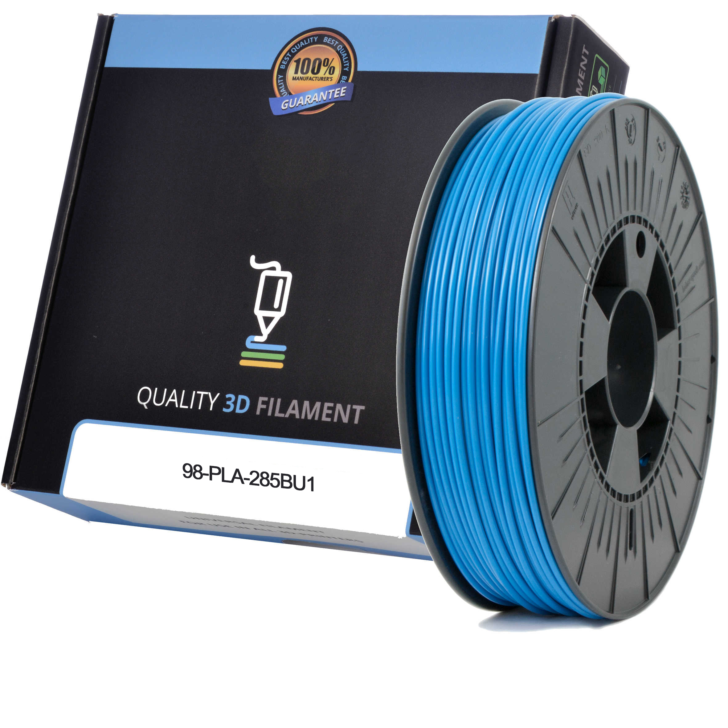 Premium Compatible PLA 2.85mm Sky Blue 0.5kg 3D Filament (98-PLA-285BU1)
