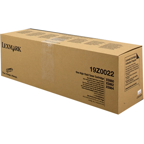 Original Lexmark 19Z0022 Black Toner Cartridge (19Z0022)