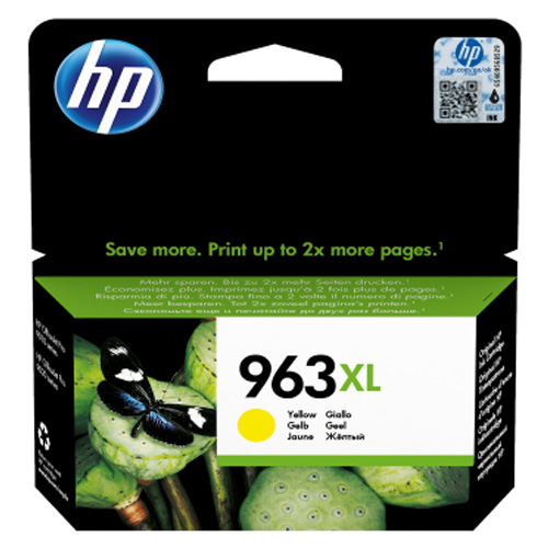 Original HP 963XL Yellow High Capacity Ink Cartridge (3JA29AE)