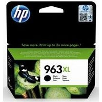 Original HP 963XL Black High Capacity Ink Cartridge (3JA30AE)