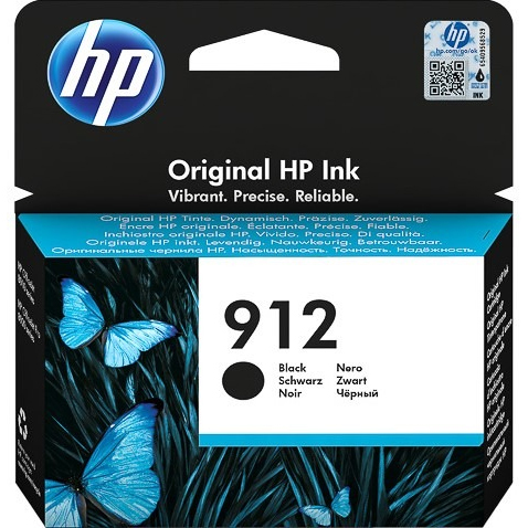 Original HP 912 Black Ink Cartridge (3YL80AE)