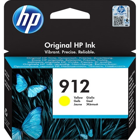 Original HP 912 Yellow Ink Cartridge (3YL79AE)