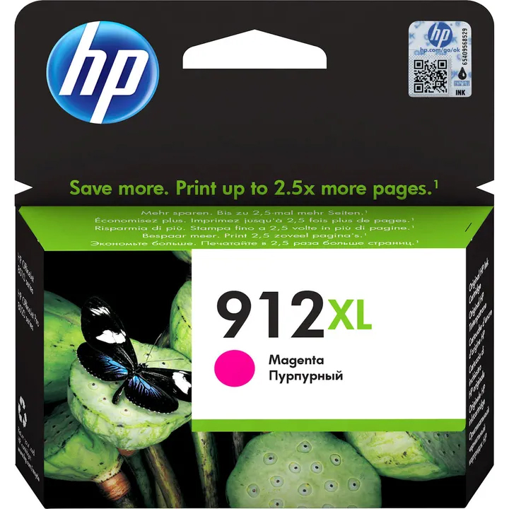 Original HP 912XL Magenta High Capacity Ink Cartridge (3YL82AE)