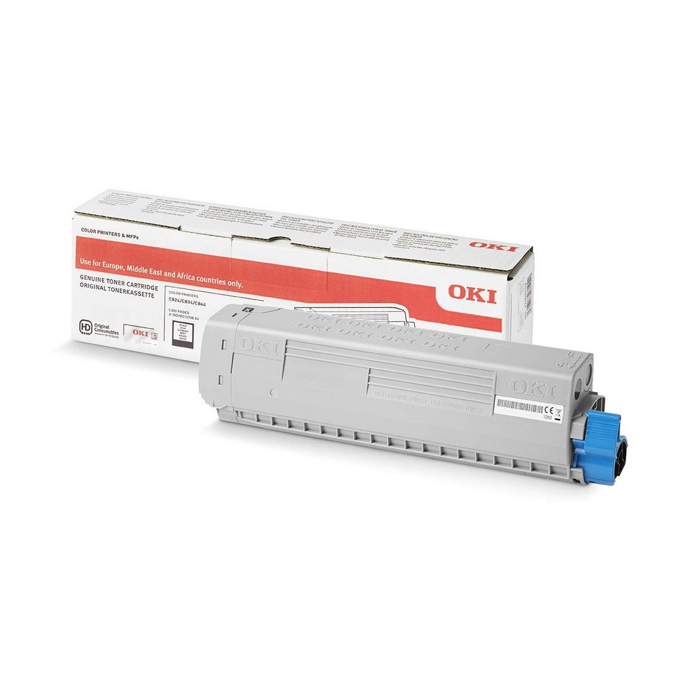 Original Oki 47095704 Black Toner Cartridge (47095704)