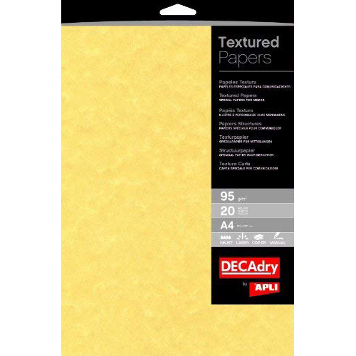Original Decadry 95gsm A4 Gold Paper Parchment - 100 Sheets (PCL1600)