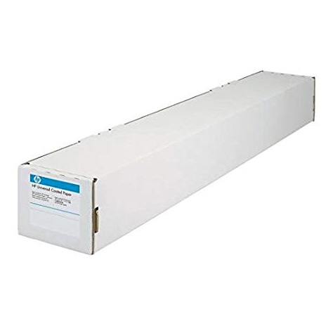 Original HP 90gsm 42in x 45.7m Universal Coated Paper Roll (Q1406B)