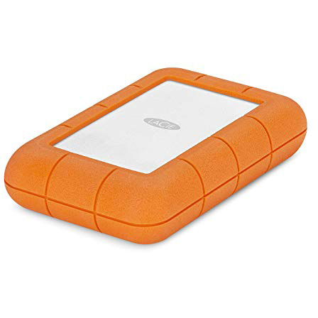 Original LaCie Rugged Raid Pro 4TB USB 3.1/USB 3.0 External Hard Drive (STGW4000800)