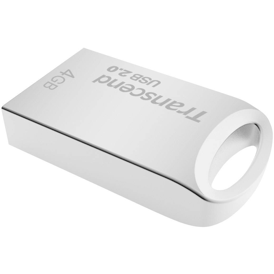 Original Transcend JetFlash 510 4GB Silver USB 2.0 Flash Drive (TS4GJF510S)