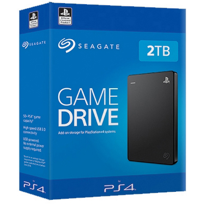 Original Seagate Game Drive 2TB USB 3.0 External Hard Drive (STGD2000200)