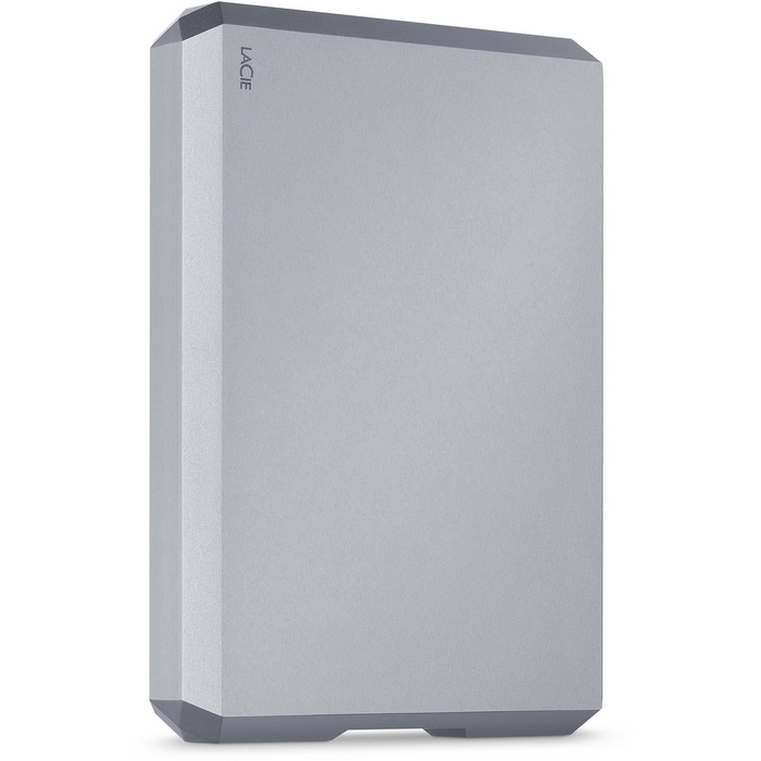 Original LaCie 4TB USB 3.1 Type-C Mobile External Hard Drive Space Gray (STHG4000402)