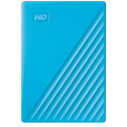 Original Western Digital 2TB My Passport USB 3.2 Gen 1 External Hard Drive (WDBYVG0020BBL-WESN)