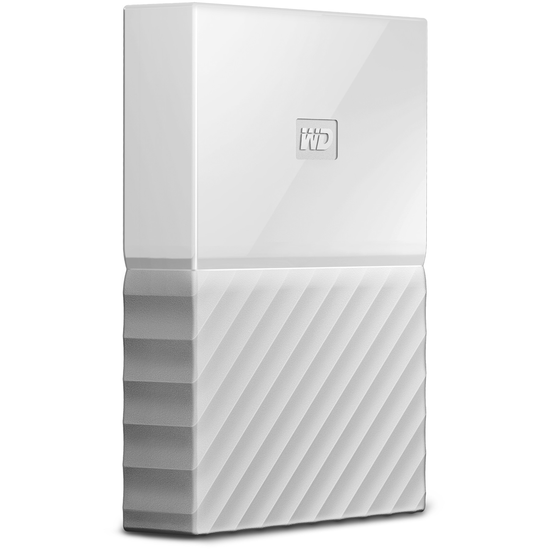 Original Western Digital My Passport 4TB White USB 3.0 External Hard Drive (WDBYFT0040BWT-EEEX)