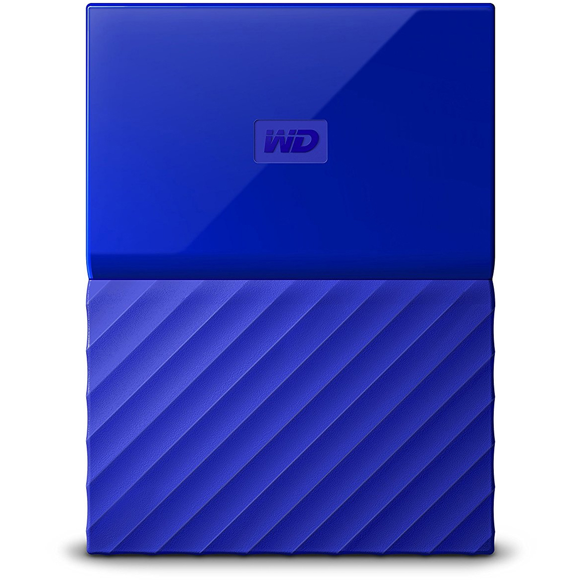 Original Western Digital My Passport 2TB Blue USB 3.0 External Hard Drive (WDBS4B0020BBL-EEEX)