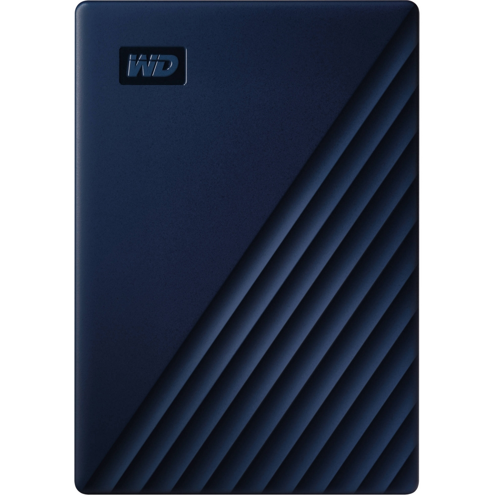 Original Western Digital My Passport for Mac 4TB Midnight Blue USB 3.0 External Hard Drive (WDBA2F0040BBL-WESN)