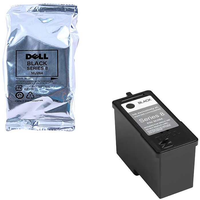 Original Dell MJ264 Black Extra High Capacity Ink Cartridge (592-10221)