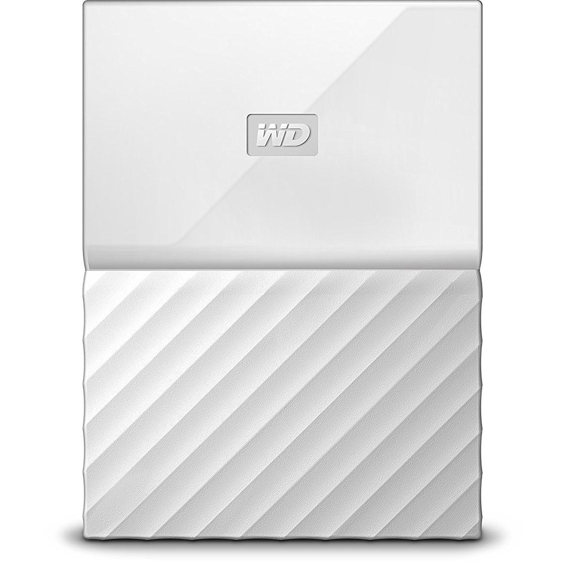 Original Western Digital My Passport 2TB White USB 3.0 External Hard Drive (WDBS4B0020BWT-EEEX)