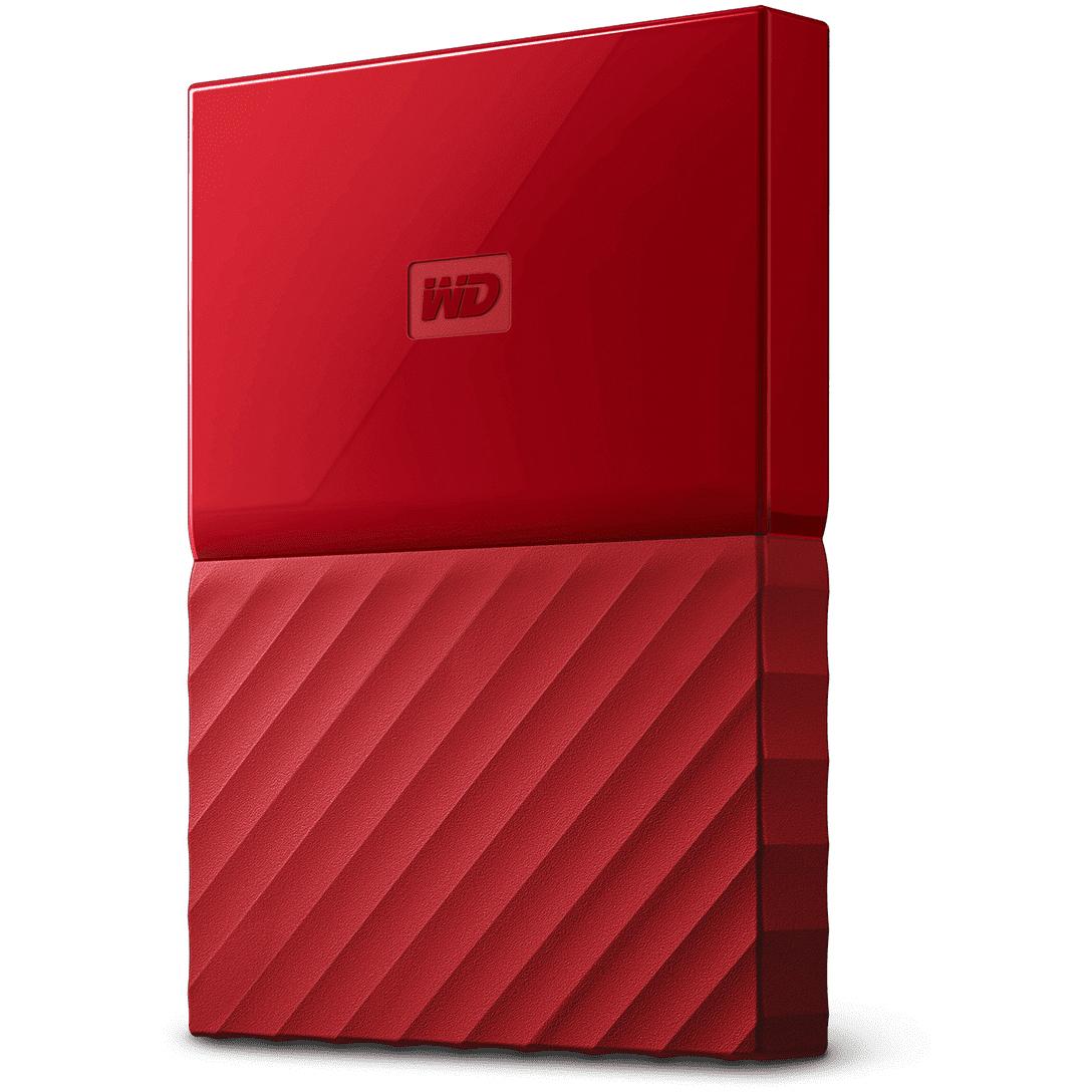 Original Western Digital My Passport 3TB Red USB 3.0 External Hard Drive (WDBYFT0030BRD-EEEX)
