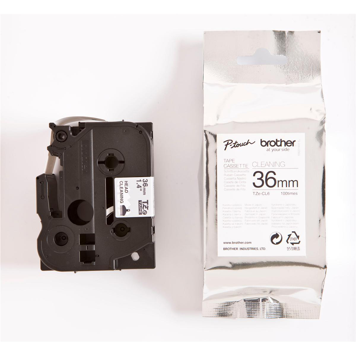 Original Brother TZeCL6 Printhead Cleaning Tape Cassette 36mm wide (Tze-CL6)