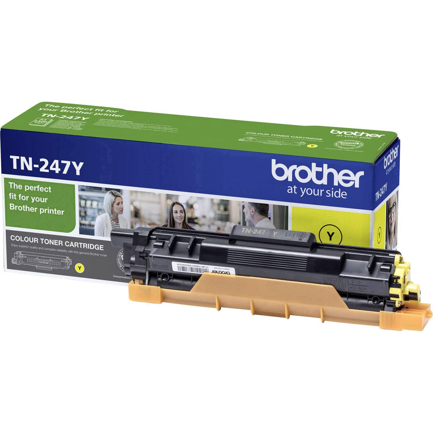 Original Brother TN-247Y Yellow High Capacity Toner Cartridge (TN247Y)