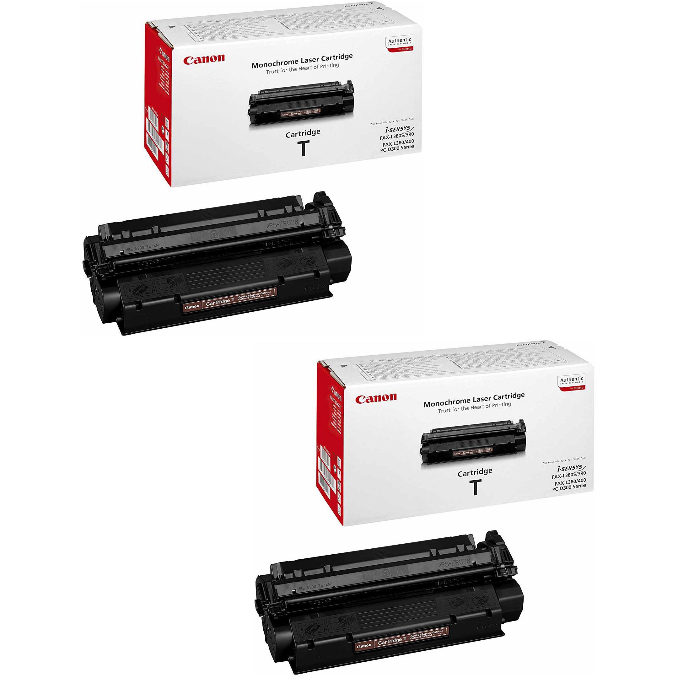 Original Canon T-Cartridges Black Twin Pack Toner Cartridges (7833A002AA)