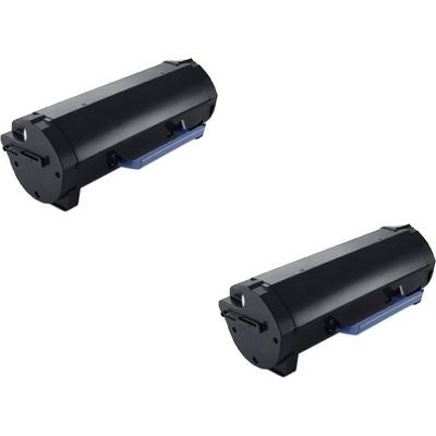 Original Dell 98VWN Black Twin Pack Extra High Capacity Toner Cartridges (593-BCBI)