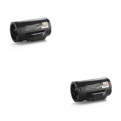 Original Dell J9Y0C Black Twin Pack Extra High Capacity Toner Cartridges (593-BBRU)