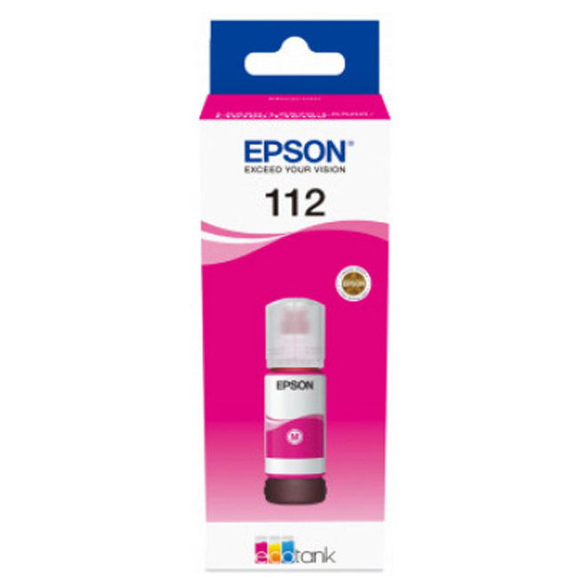 Original Epson 112 Magenta Ink Bottle (C13T06C34A)