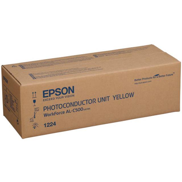 Original Epson Al-C500Dn Photoconductor Unit Yellow (C13S051224)