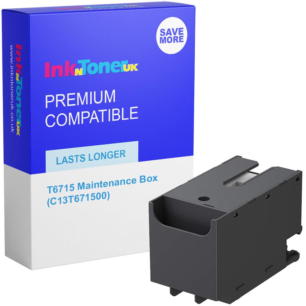 Premium Compatible Epson T6715 Maintenance Box (C13T671500)