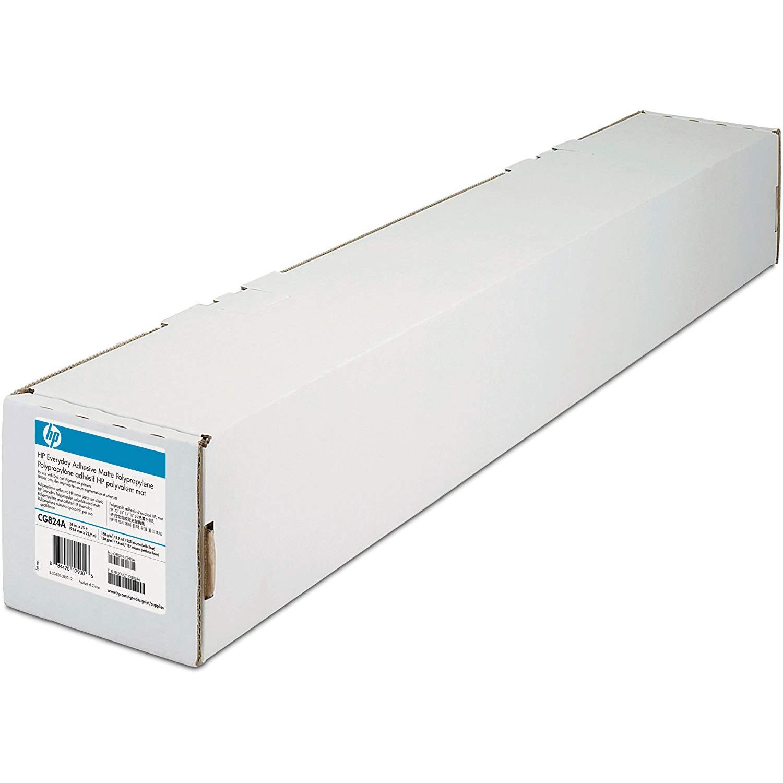 Original HP 80gsm 24in x 50ft Professional Matte Canvas Paper Roll (Q8673B)