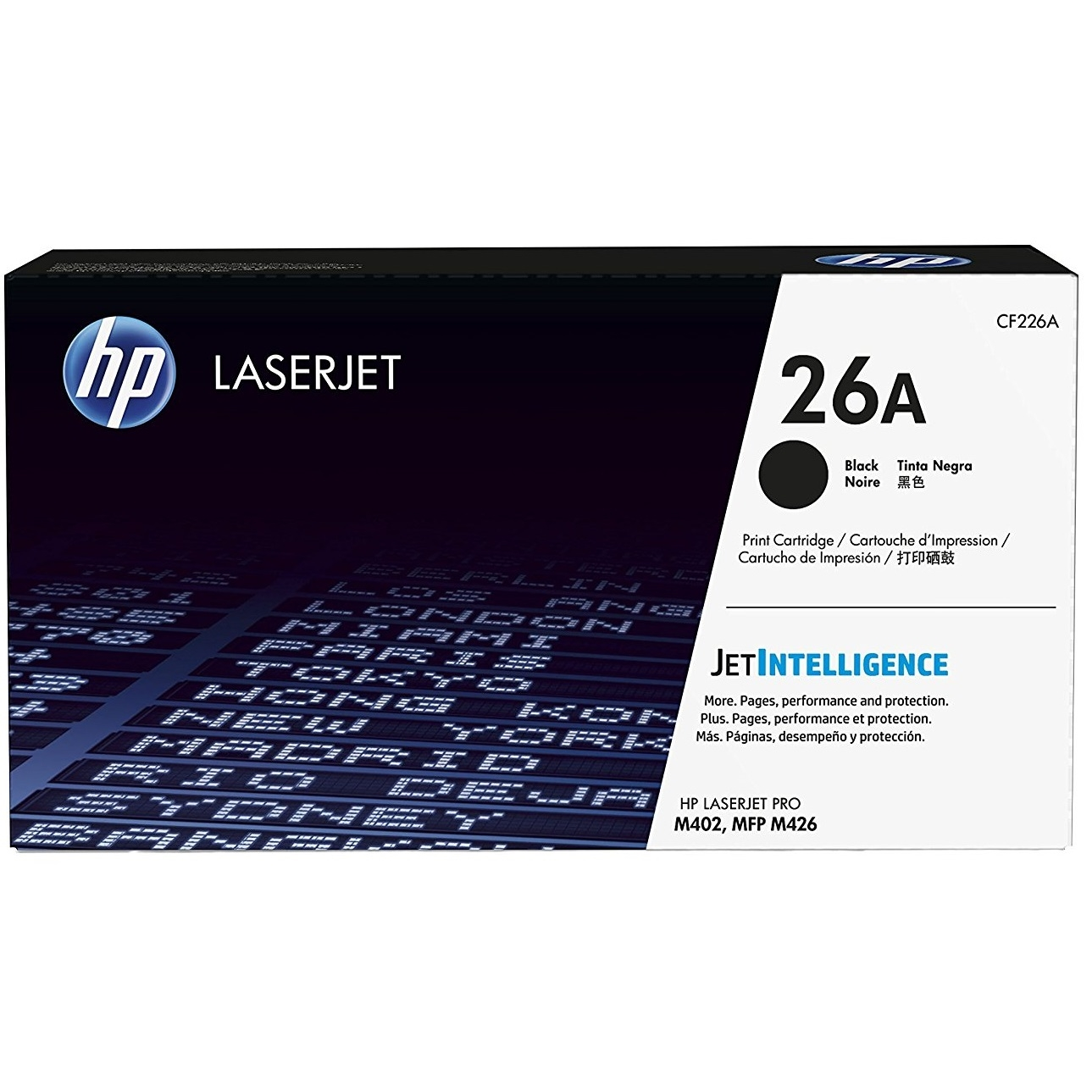 Original HP 26A Black Toner Cartridge (CF226A)