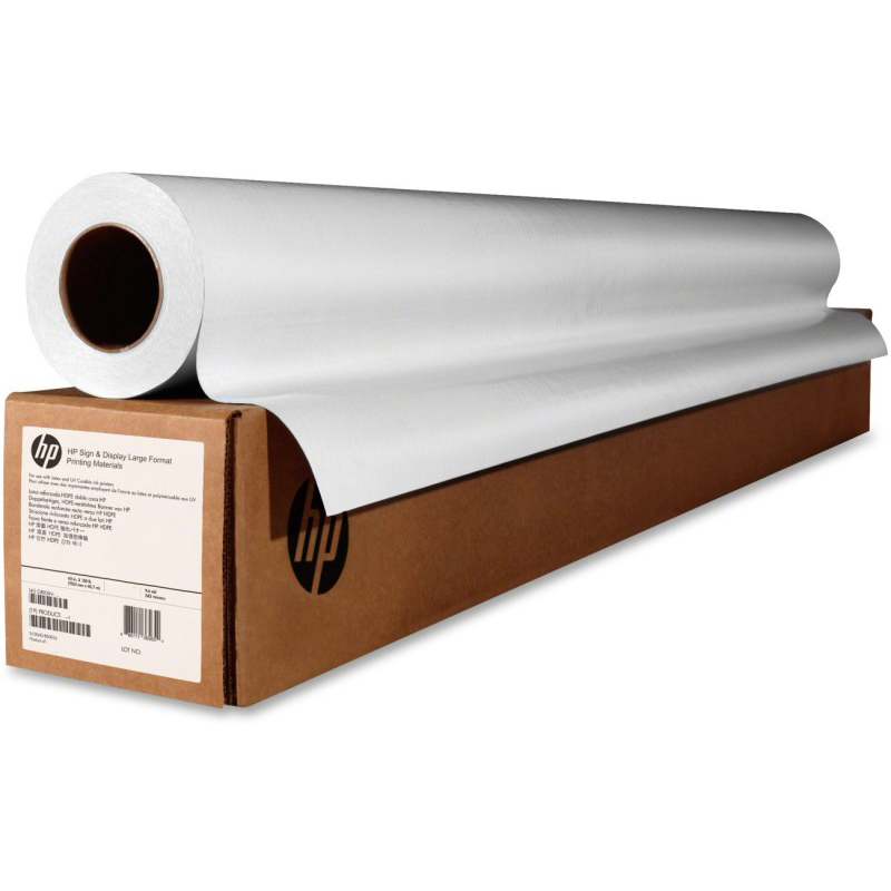 Original HP 200gsm 42in x 100ft Universal Instant Dry Gloss Photo Paper Roll (Q6576A)