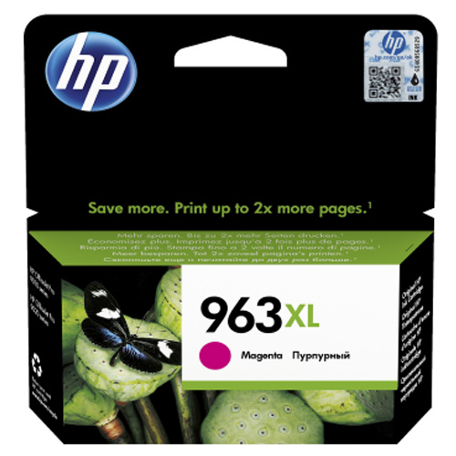 Original HP 963XL Magenta High Capacity Ink Cartridge (3JA28AE)