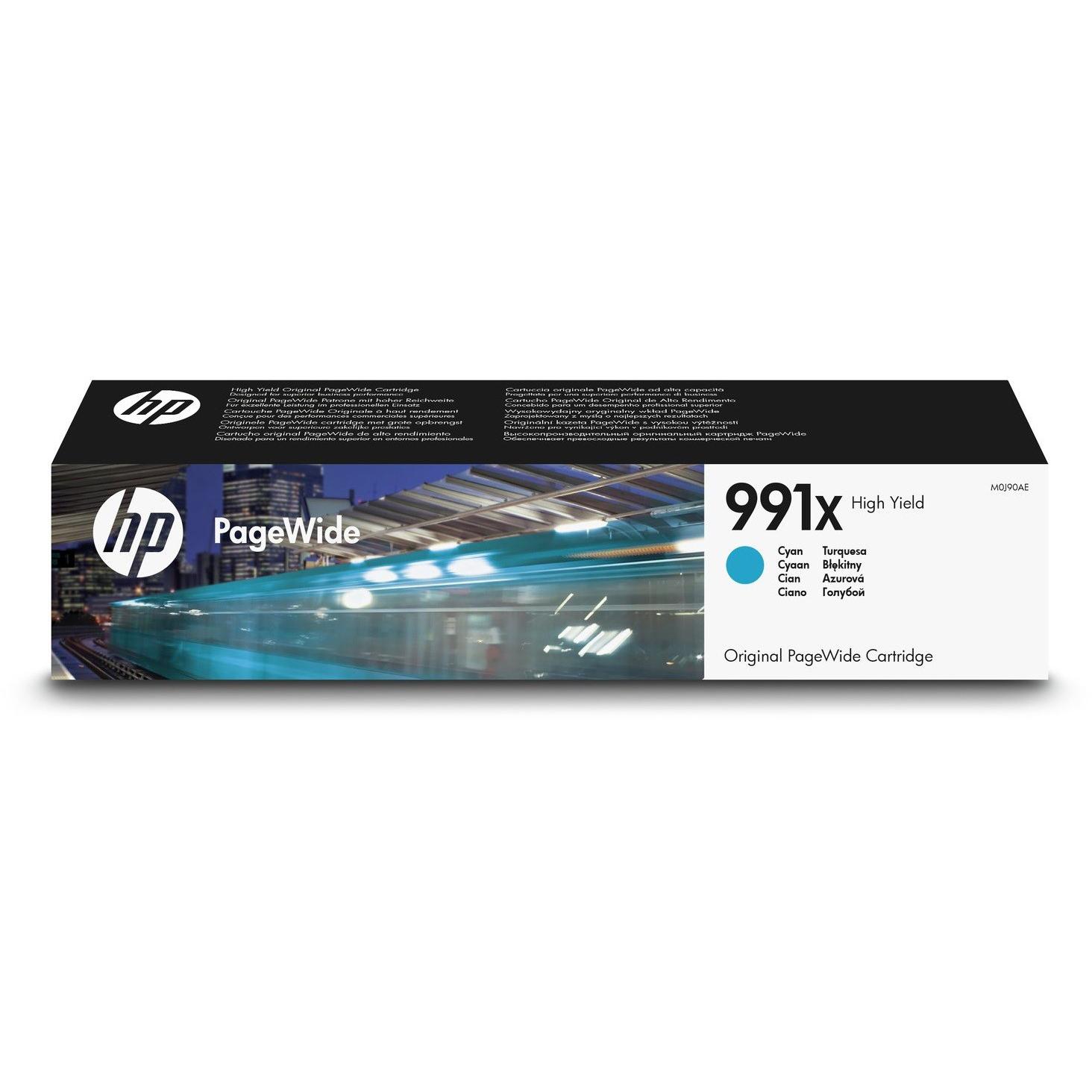 Original HP 991X Cyan High Capacity Ink Cartridge (M0J90AE)