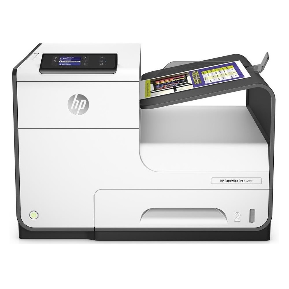 Original HP PageWide P452dw A4 Colour Inkjet Printer (D3Q16B)
