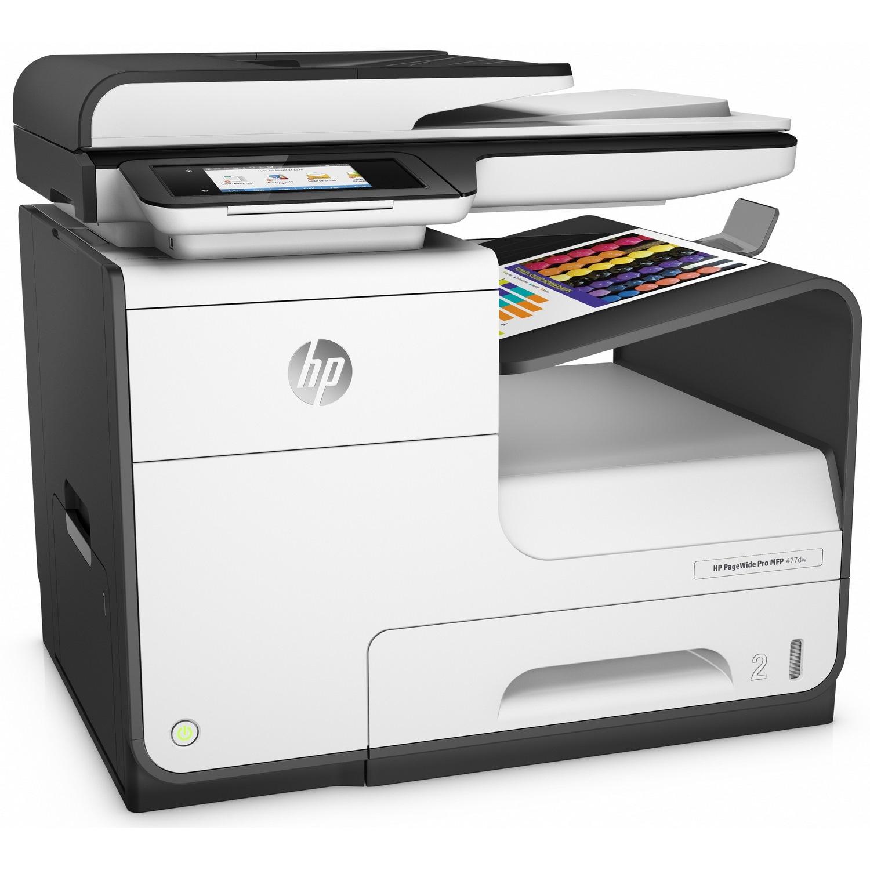 Original HP PageWide P477dw A4 Colour Multifunction Inkjet Printer (D3Q20B)