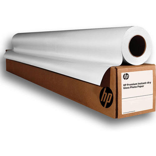 Original HP 260gsm 24in x 75ft Professional Instant-Dry Gloss Photo Paper Roll (Q7991A)