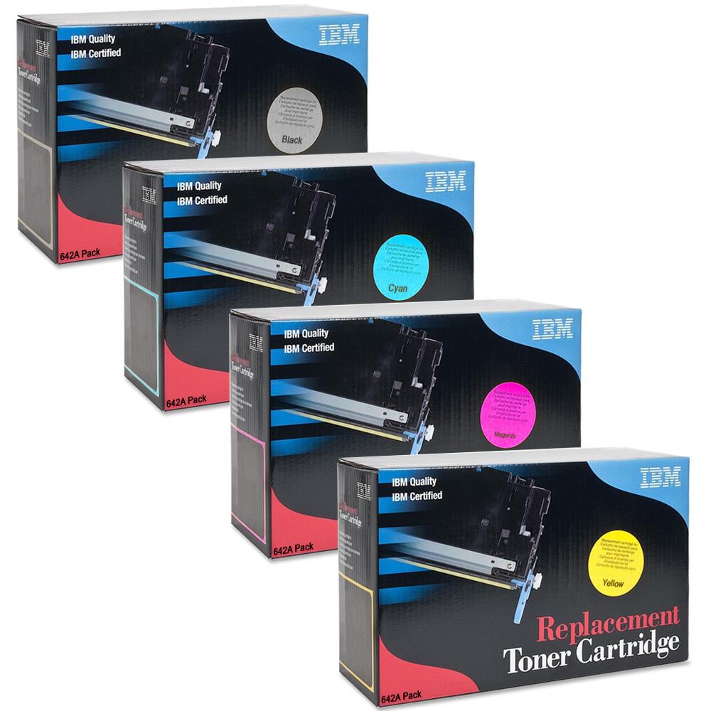 Original Hp 642a Cyan Toner Cartridge Cb401a Colour Laserjet Color Cp4005 Ibm Replacement