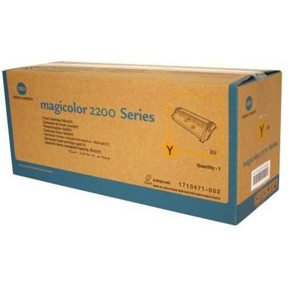 Original Konica Minolta Mc 2200 Tonner Yellow 1710471-002 (4145503)