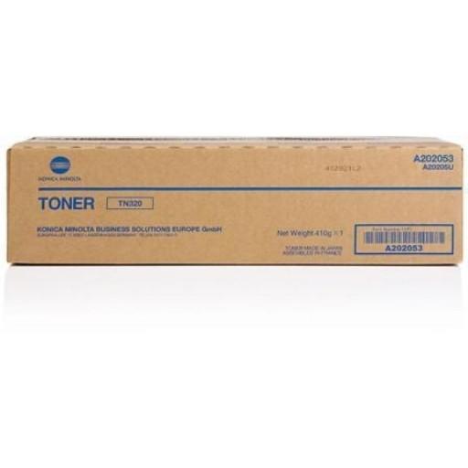 Original Konica Minolta TN-320 Black Toner Cartridge (A202053)