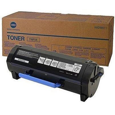 Original Konica Minolta TNP-56 Black Toner Cartridge (AADW011)