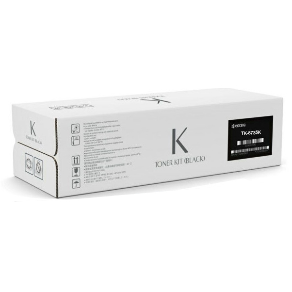 Original Kyocera TK-8735K Black High Capacity Toner Cartridge (1T02XN0NL0)
