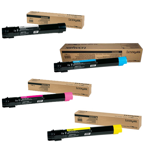Original Lexmark 22Z00 CMYK Multipack Toner Cartridges (22Z0008/ 22Z0009/ 22Z0010/ 22Z0011)